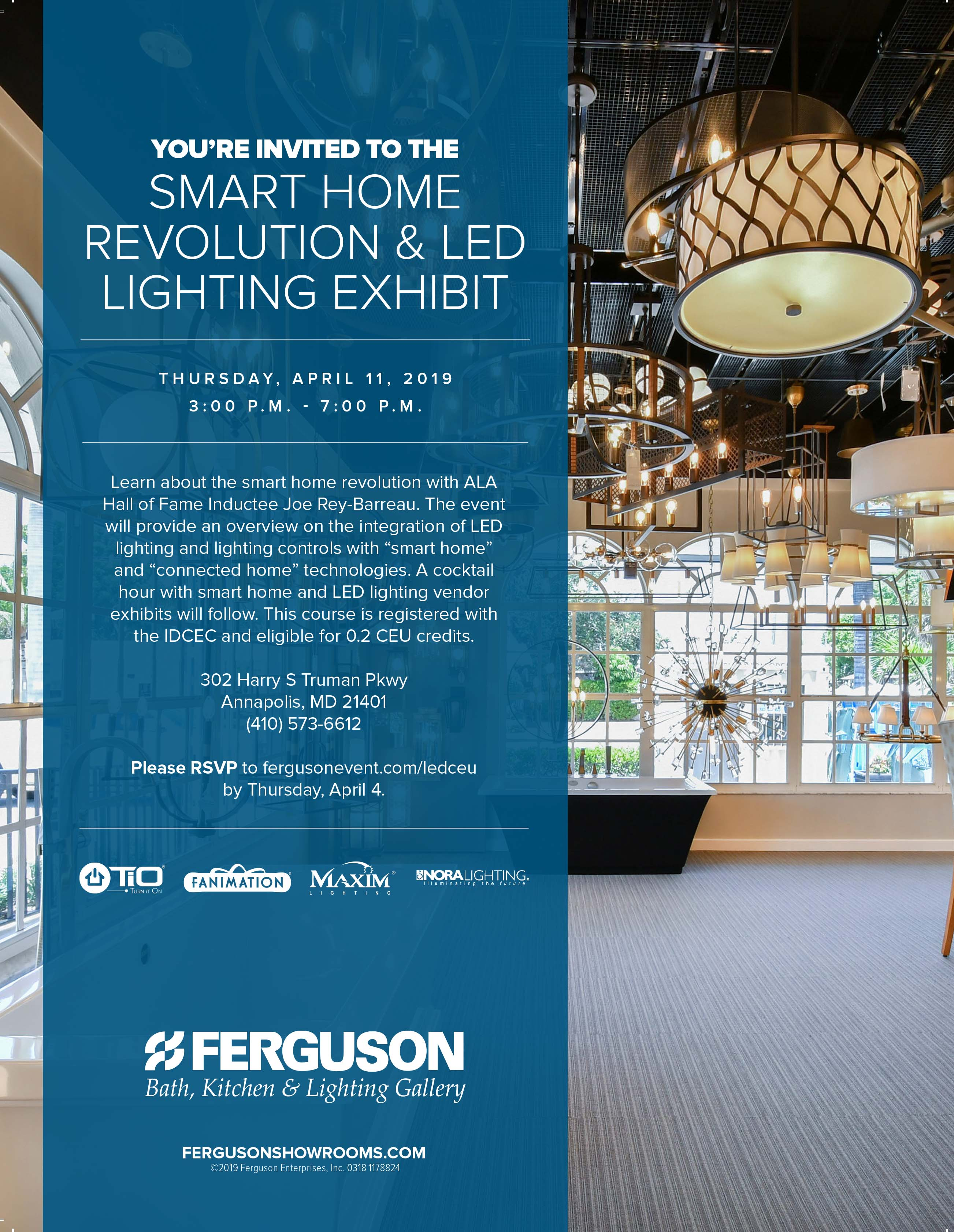 If You Haven T Visited Ferguson S Expansive And Elegant Showroom Lately Would Like To Learn About Led Lighting Integration Won Want Miss This